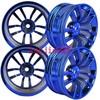 4PCS 52mm Metal Aluminum Wheel Rim For RC 1:10 1/10 On Road Model & Drift Car tires tyres 12mm HEX Fit HSP HPI REDCAT 110B