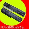 5200mAh laptop Battery for LG R410 R510 R560 R580 SQU-804 SQU-805 SQU 807 SW8-3S4400-B1B1 3UR18650-2-T0144 3UR18650-2-T0188