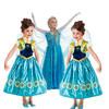 New 2014 frozen dress girl,  summer girl clothing, Wu Children Clothing Free Shipping