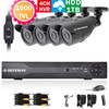 4CH Security video Surveillance Camera System 4channel 960H HDMI 1080P HVR NVR CCTV DVR KIT 800TVL Waterproof camera 1TB HDD
