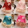 Hot Sale! Casual Girls Top Kid Lace Bow Princess Long Sleeve Dress 3M-2Y Clothes