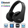 2014 Super! Wireless Bluetooth Stereo Foldable Headset Handsfree Headphones Earphone Earbuds with Mic for iPhone Galaxy HTC