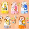 Retail Baby clothing set, t-shirts girls boys t shirt+pants undershirt Shorts,kids pajama set,Children t shirts 2014 new summer