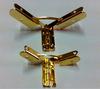 20pcs/lot 40*50mm Factory direct Hinge Jin Support Wooden box hinge Iron sheet Aircraft Hinge Large ears Wholesale