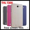 freeshipping hard case for THL T200 mobile phone protective case + free screen protector T200 mobile phone case