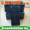 Free Shipping 10PCS X 5.5V 0.3W Mini Monocrystalline solar Panel small solar cell PV module for DIY solar Kits