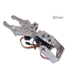 2DOF Metal Robot Arm Clamp Claw Mount Frame kit Set Aluminium Alloy for Arduino
