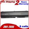Laptop Battery For Hp 484170-001 484170-002 484171-001 485041-001 EV06 HSTNN-XB79 4400mah