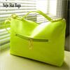2014 new fashion candy color women PU leather handbag Vintage postman messenger bag women shoulder bag H009E