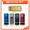 K1 Original Motorola K1 mobile phone unlocked k1 mobile phone All GSM Carrier work AT & T T-Mobile Russian Keyboard Support