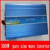 Hot selling 3000w inverter pure sine wave dc to ac 12v to 220v inverter with charger free shipping
