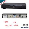 Free shipping 2014 new CCTV dvr 4 channel HDMI Mini DVR 4CH H.264 CCTV DVR Recorder P2P Cloud 4ch Full D1 CCTV DVR Recorder