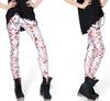 EAST KNITTING X-121 women digital printed pants Blood Splatter Big Leggings halloween punk legging Free Shipping