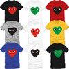 couples dress men women tee shirts eyes heart print round neck short sleeve cotton t-shirt catoon comis unisex t shirt S-XXXL