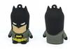 1pcs New cartoon Superman Batman model usb 2.0 flash memory stick pen drive 2G 4G 8GB 16GB 32GB USB Flash Drive free shipping