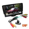 "Mini Car Rearview Reverse camera kit 170 degree Waterproof + 4.3"" Car LCD Backlight Monitor Free Shipping"