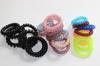20pcs/Lot Telephone Cord 6cm Diameter Headband Girl's Hair Ties Head band Hair Strap Hair Bands J022