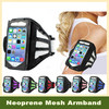 500 Piece Mesh Hole Jogging Running Sport Armband Case Cover Gym Running Mobile Arm Band for iPhone 5 5S 5C
