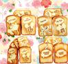 Super Squishy!!14CM Jumbo Sweet Scented Cartoon Toast Squishy Cell Phone Charm