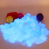 2014 Fountain Newest Decorative Gravel for Your Fantastic Garden Or Yard 100 Glow In The Dark Pebbles Stones for Walkway Blue