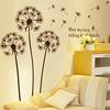 Dandelions Flowers Removable Wall Decor 150*170cm Wall Stickers Vinyl Waterproof Stickers Wallpaper