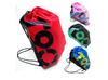 Four Colors Women/Men Drawstring T90 Print Nylon Waterproof Outdoor Travel Swim Beach Backpacks Bags