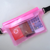 2 Piece Waterproof Waist Belt Case Pouch Dry Bag Wallet Phone Bags Cases for iPhone 4 4S 5S 5C for Samsung Galaxy S3 S4