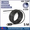 Newest Super Mini 5.5mm Dia USB Endoscope 5M 1.3MP 720P HD Endoscope Camera 6LED  Industrial Borescope Waterproof  Camera IC5M