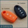 Free shipping Silicon Car key cover bag for Nissan Sunny Teana Altima Note Serena Navara GTR Morano keys case shell key chain
