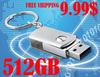 2014 new All steel Rotation usb flash drive BIg gb, swivel usb pen drive big capacity, gift usb flash memory stick free shipping