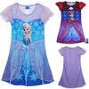 Hot Frozen Dress Elsa & Anna Summer Dress For Girl 2014 New Princess Dresses Brand Girls Dress Children Clothing #6 SV005259