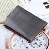 100% Genuine Leather Real Men Wallet Clutch Purse Cowhide Hide Card Holder Wallet
