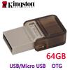 8GB 16GB 32GB 64GB Kingston USB Flash Drive OTG, Pen Drive Pendrive OTG Flash Card, Micro USB OTG Flash Drive Free Shipping