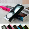 Lowest Price New Hot Sale 5 colors MINI Clip MP3 Player Sport Music Mp3 With Micro TF Card Slot FM MP3 Player#3 SV004788