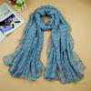 Free shipping !Fashion printe design striped autumn hijab chiffon viscose long shawls/scarves.10pcs/lot.