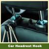 Universal Car Auto Seat Hanger Purse Bag Holder Hook Headrest Hanger Tools ABS Business Type