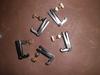 60 PCs black & gold color Violin String Adjuster 3/4-4/4