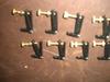 100 PCs black & gold color Violin String Adjuster 3/4-4/4 003#