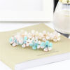 Dowell Cellulose acetate mini floral crystal hairpins Acetate hair accessory factory direct sale free shipping 6 pcs a lot