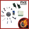 Free shipping, one way alarm system for car, remote engine start, push button start stop car, keyless entry.