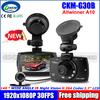 "CKM-G30B Dual lens Car DVR 2.7""LCD Full HD 1080P+VGA 480P With+G-sensor+H.264+Night Vision+Motion Detection Car Dashboard Cam"