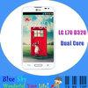 "Unlocked LG L70 D320 / D323 Original Cell phone Dual Core 4.5"" Capacitive Screen 5MP Camera 1G RAM 4G ROM 3G Android Phone"