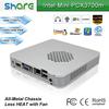 mini itx INTEL Celeron 1037U thin client 8GB RAM 1TB HDD windows embedded,full full hd media play