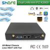 fast operating speed intel 1037U CPU mini thin client windows 7 pre-installed,8GB RAM 500GB HDD,built-in dual LAN ports