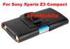 2014 New Slim Pouch Case Belt Clip Case Mobile Phone Case Leather Case For Sony Xperia Z3 Compact Xperia Z3 mini/M55W