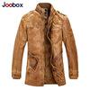 Spring 2014 new men's leather jacket men leather bomber biker leather jackets for men skin jacket coat
