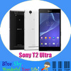 original cell phone Sony Xperia T2 ultra unlocked phone 6.0 inch touch screen quad core 13MP camera 1G RAM 8G storage