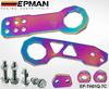 Tansky -- EPMAN Neo Chrome CNC Billet Aluminum Front+Rear Tow Racing Bumper Hook Towing Kit EP-TH01Q-7C