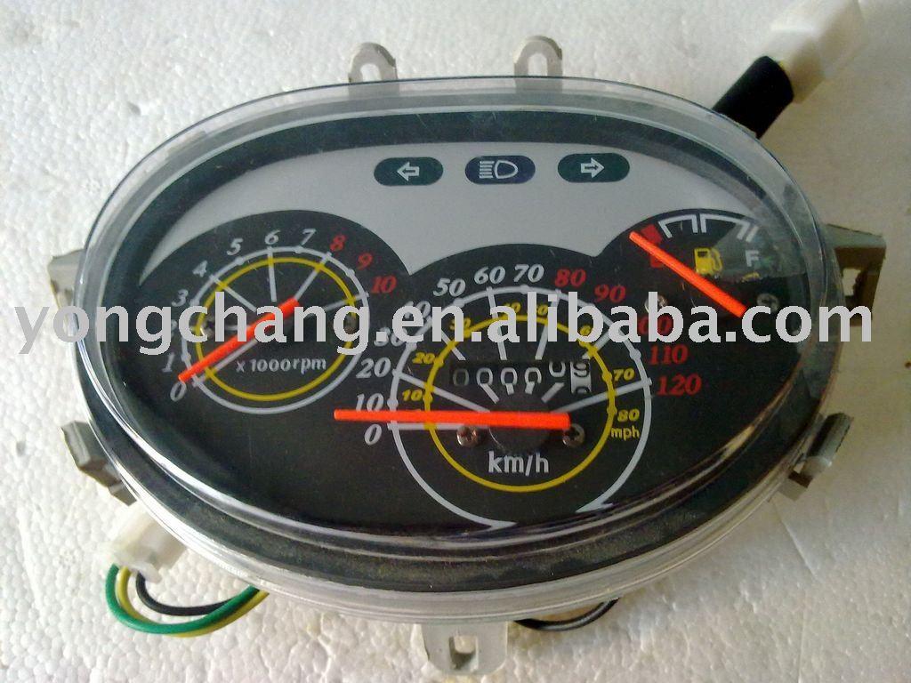 Shipping car speedometer