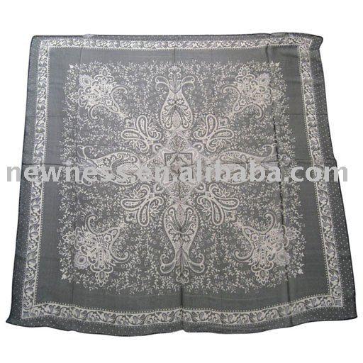 silk scarf top. Pure silk scarf: top quality